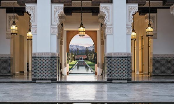 hôtel 5 etoiles marrakech